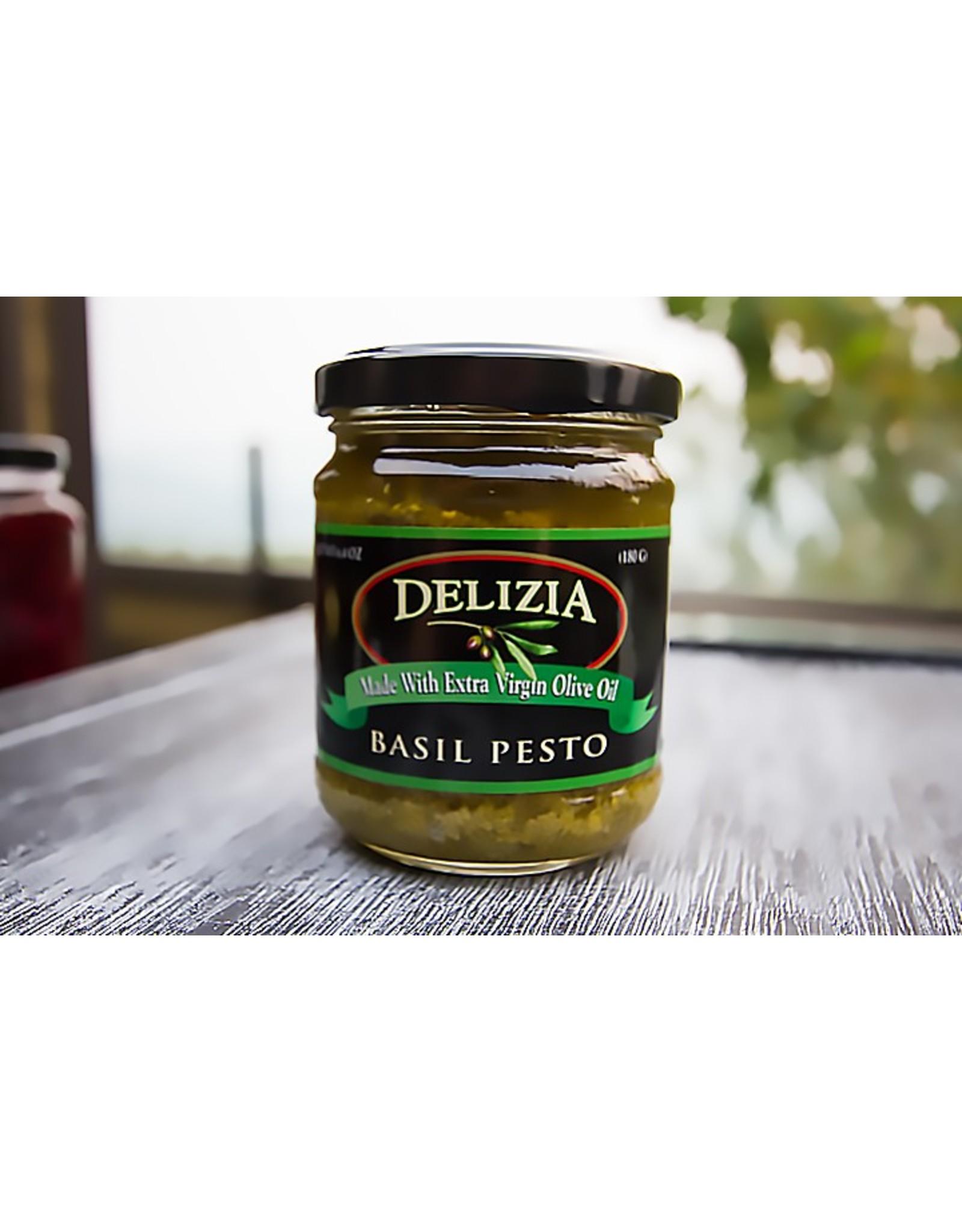 Delizia Delizia Basil Pesto - 6.4oz