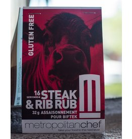 Metropolitan Chef Steak and Rib Rub 24g