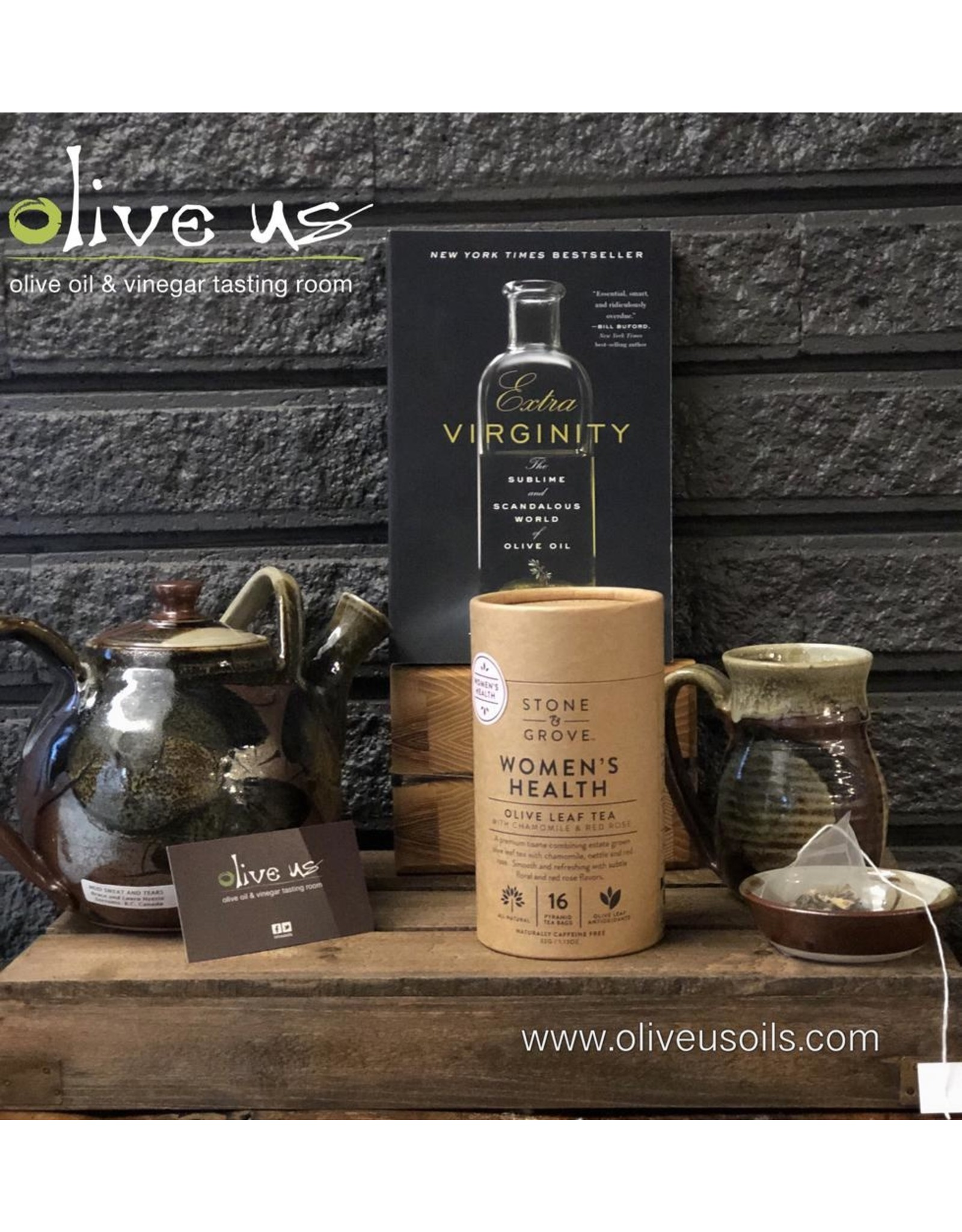 Stone & Grove Stone&Grove Tea-Womens Health Blend Olive Leaf Tea