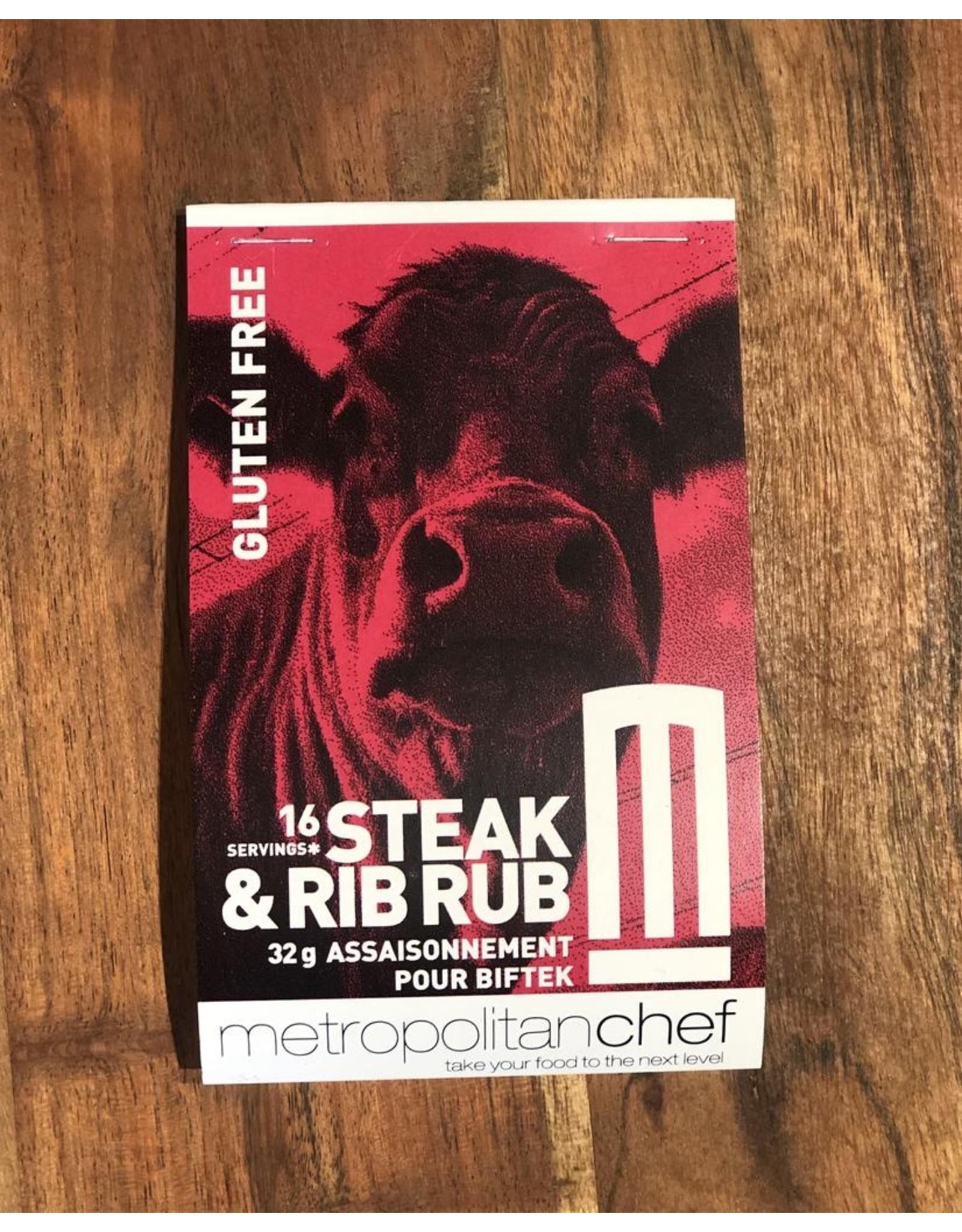 Metropolitan Chef Steak and Rib Rub 24g