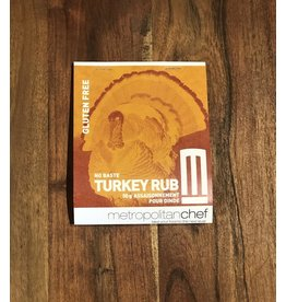 Metropolitan Chef Turkey Rub 50g