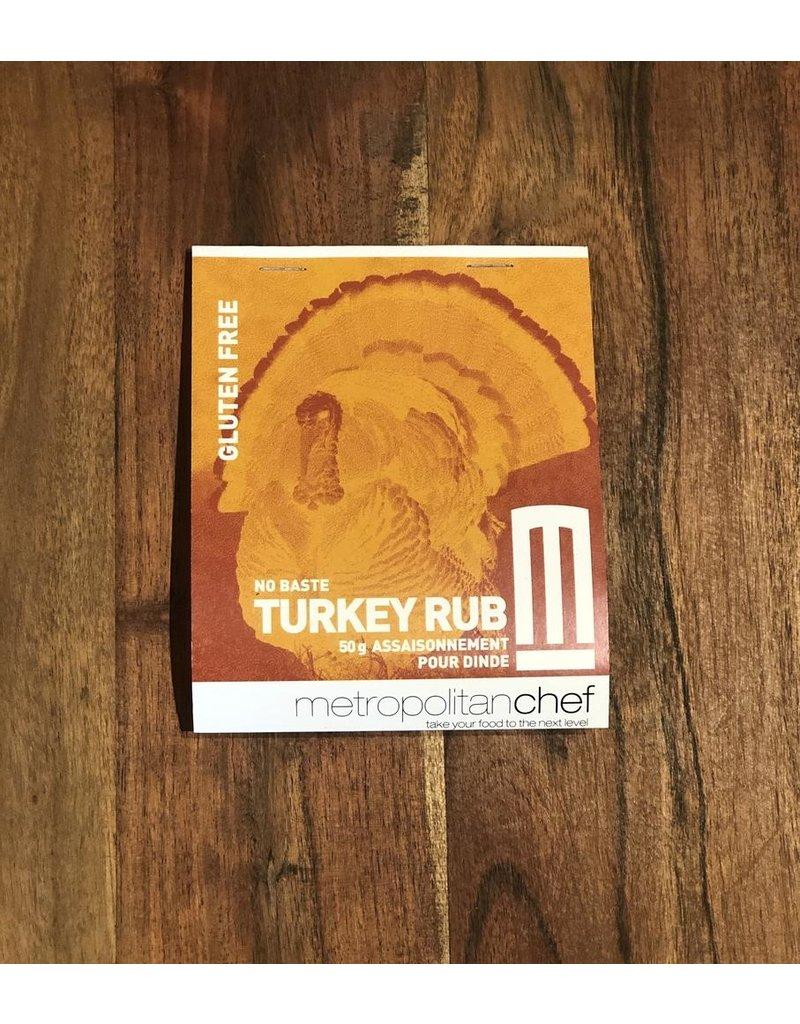 Metropolitan Chef Turkey Rub 50g
