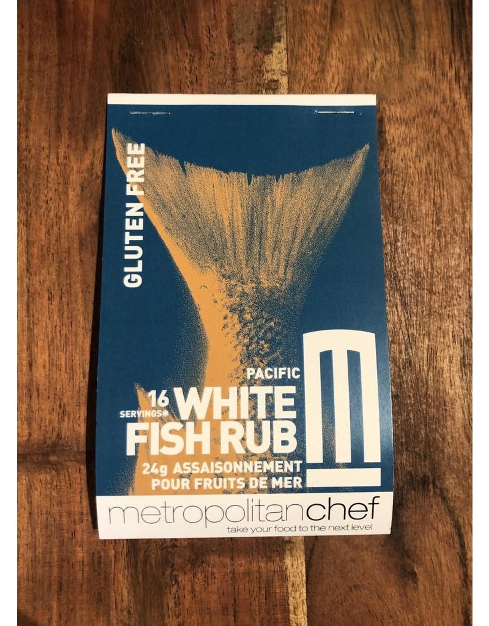 Metropolitan Chef White Fish Rub 24g