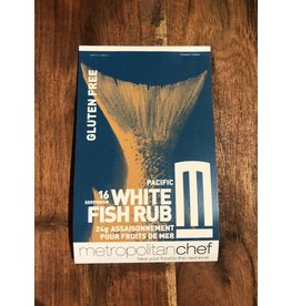 Metropolitan Chef White Fish Rub 24g