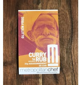 Metropolitan Chef Curry Rub 24g