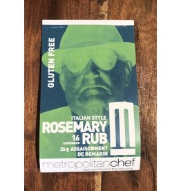 Metropolitan Chef Rosemary Rub 24g