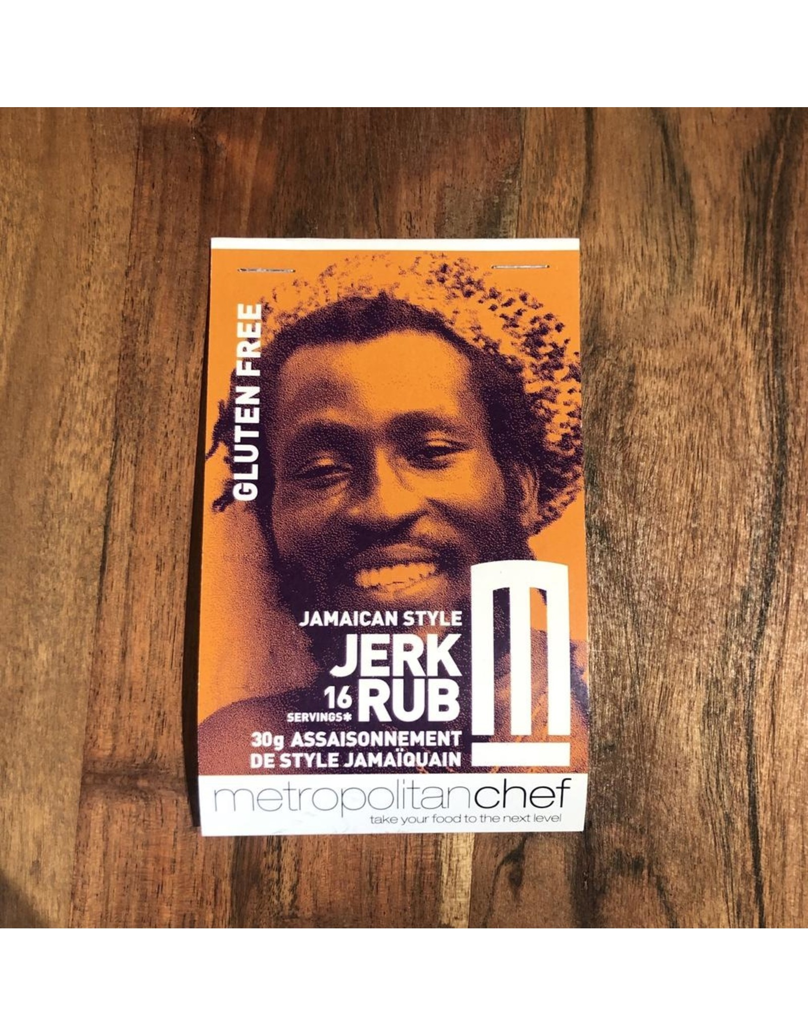 Metropolitan Chef Jerk Rub 24g