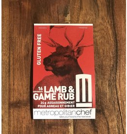 Metropolitan Chef Lamb and Game Rub 24g