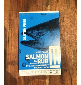 Metropolitan Chef West Coast Salmon Rub 24g