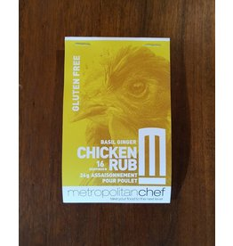 Metropolitan Chef Basil Ginger Chicken Rub 24g