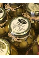Delizia Gordal Olives Stuffed W/Garlic 20 OZ.