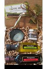 Pinch Of Salt Oil & Vin Gift Set:Tuscan Herb & Pomegranate