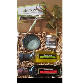 Pinch Of Salt Oil & Vin Gift Set:Tuscan Herb & Pomegranate
