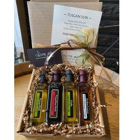 Tuscan Sun 4 Pack 60ml - 2 Oil & 2 Vinegar