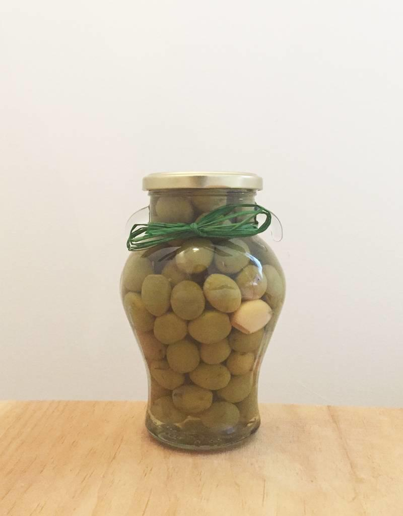 Delizia Delizia Olives (Whole Green Garlic & Rosemary)