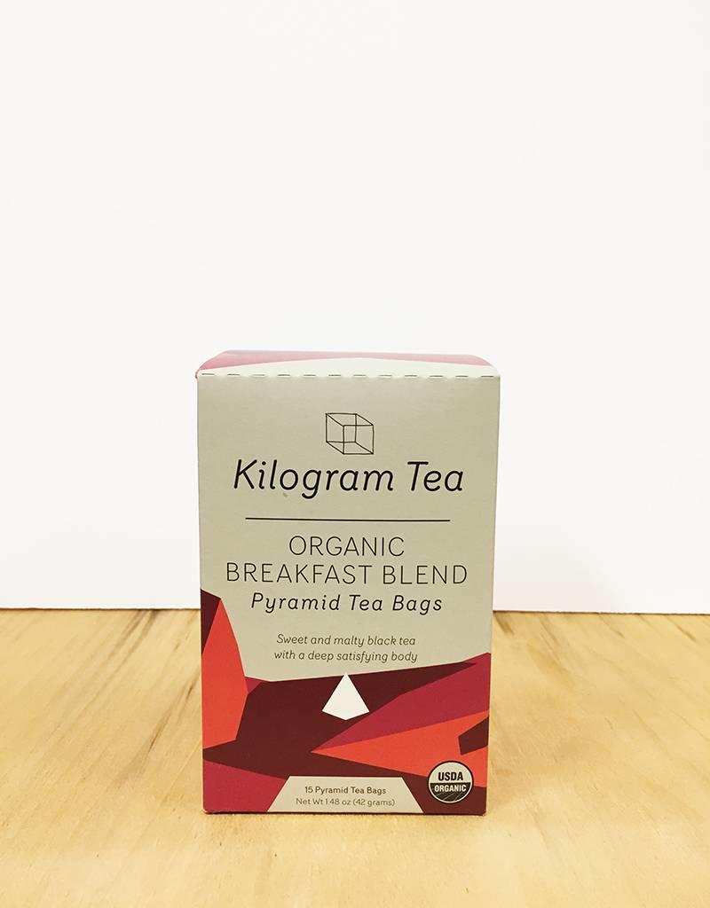 Kilogram Tea Kilogram Organic Teabags (Breakfast Blend)