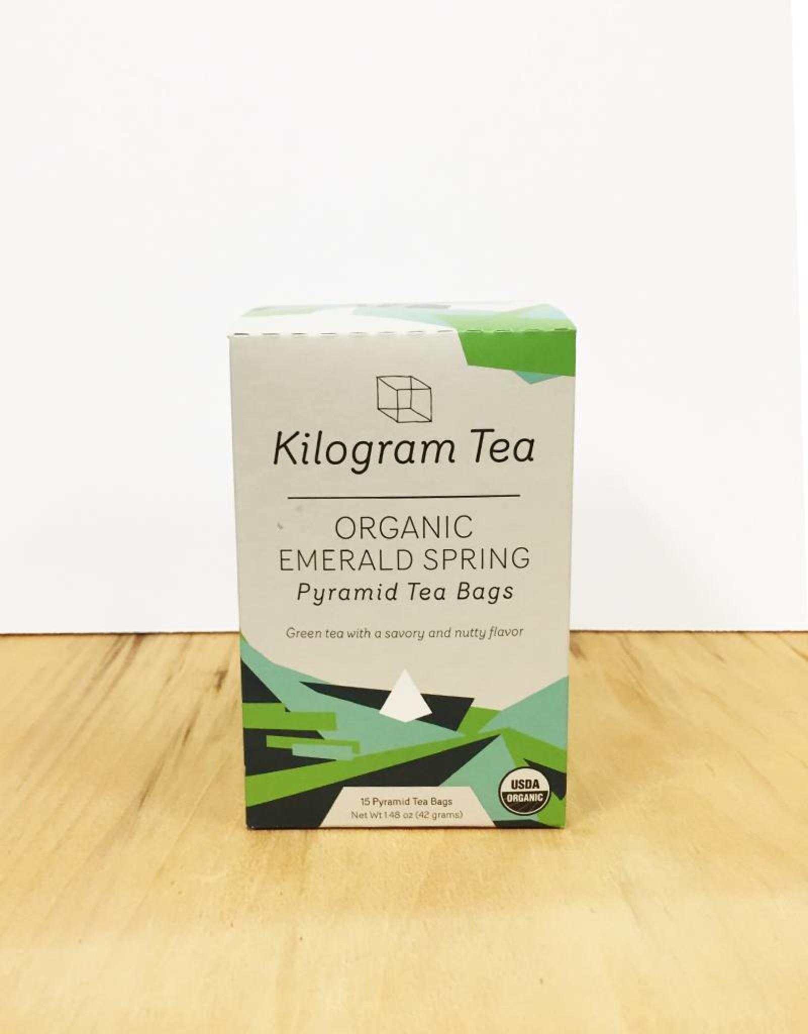Kilogram Tea Kilogram Organic Teabags (Emerald Spring)