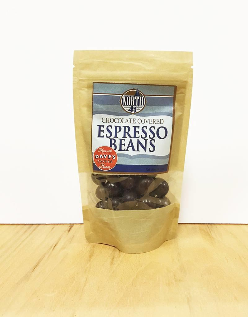 North 41 North 41 Dave's Coffee Chocolate Covered Espresso Beans