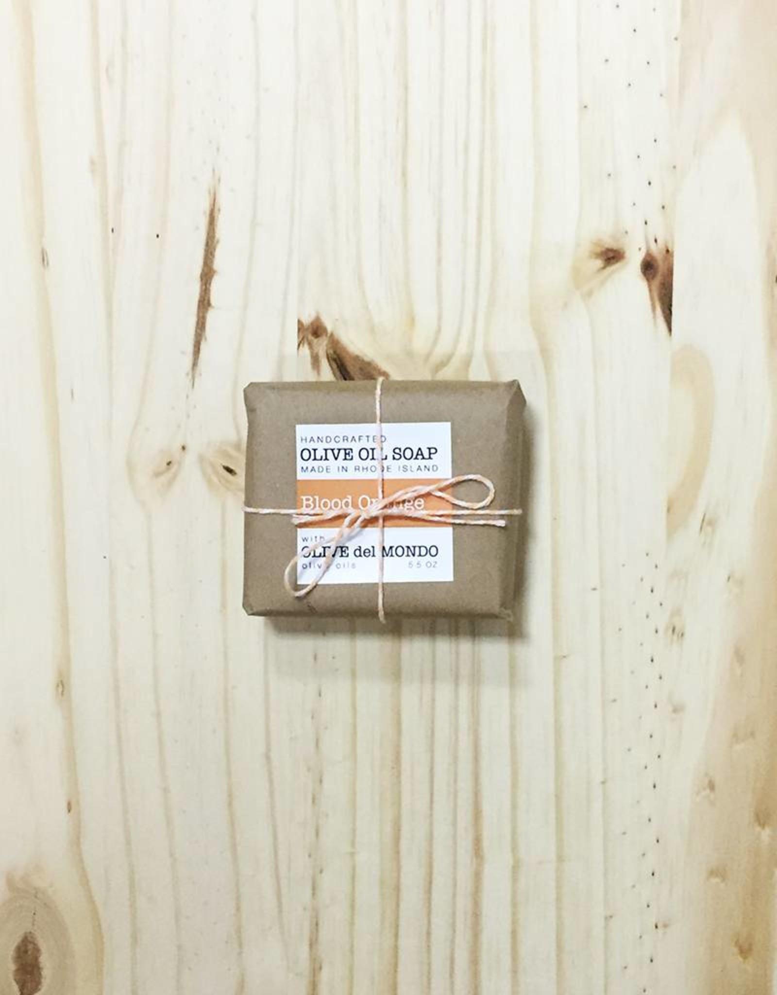 Olive del Mondo Olive del Mondo Soap Bars 5.5oz. (Blood Orange)