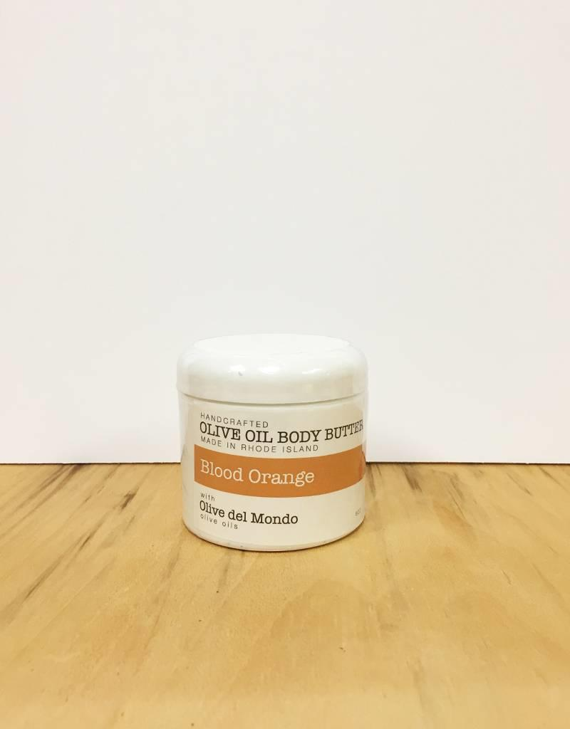 Olive del Mondo Olive del Mondo Body Butter 6oz. (Blood Orange)