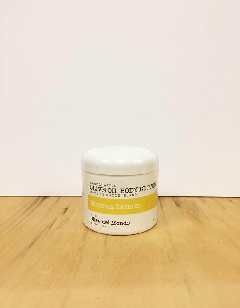 Olive del Mondo Olive del Mondo Body Butter 6oz. (Eureka Lemon)