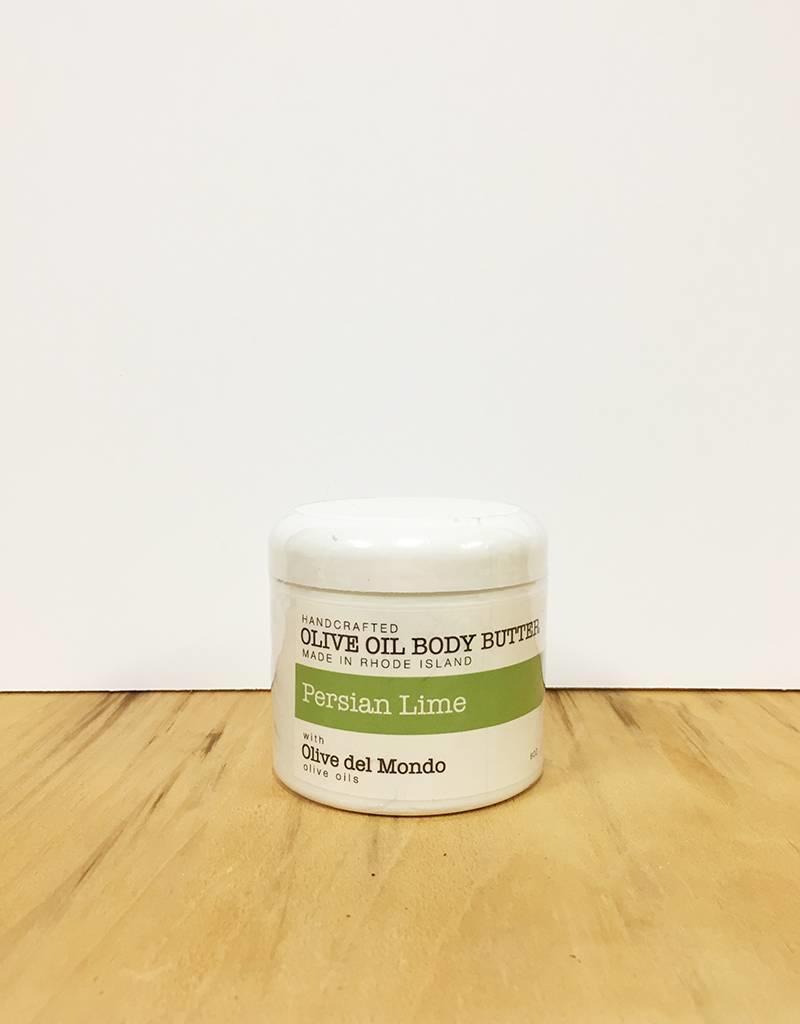 Olive del Mondo Olive del Mondo Body Butter 6oz. (Persian Lime)