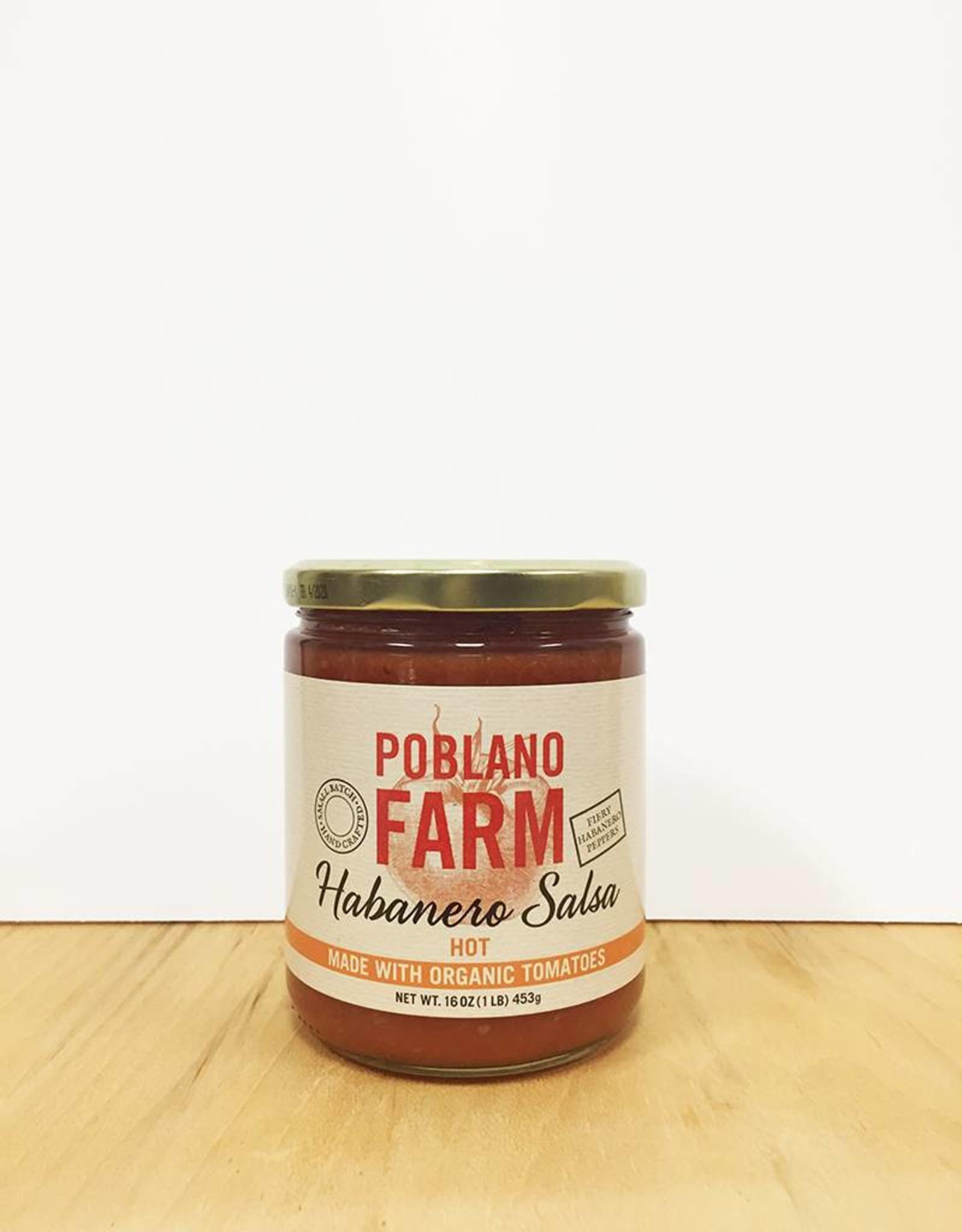Poblano Farm Poblano Farm Habanero Salsa (Hot)