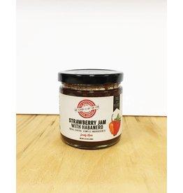 RI Backyard Food Co. Strawberry Jam with Habanero