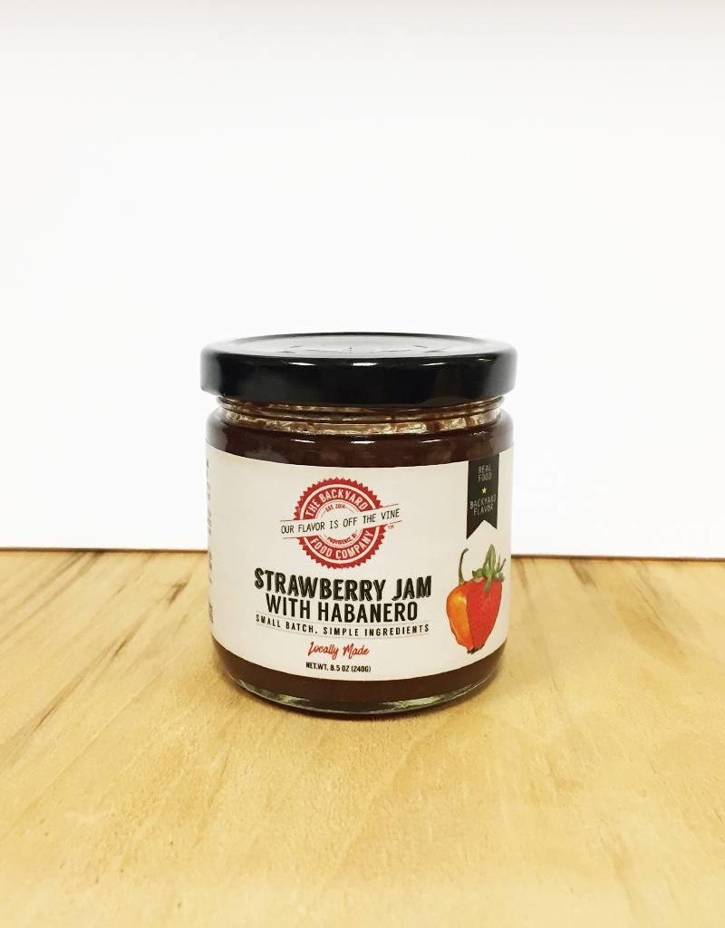 RI Backyard Food Co. Strawberry Jam with Habanero