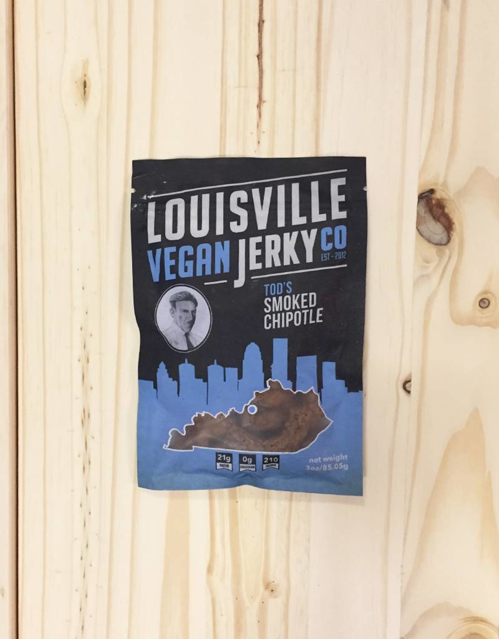 Louisville Vegan Jerky Co. Louisville Vegan Jerky (Smoked Chipotle)