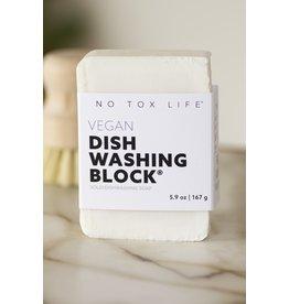 No Tox No Tox Life Dish Block® Zero Waste Dish Washing Bar