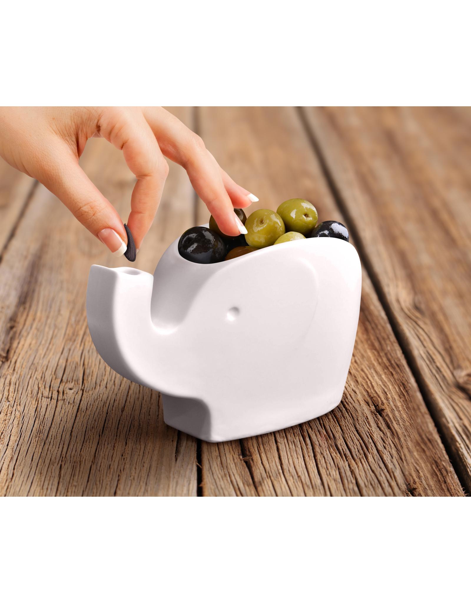 Fred & Friends Fred Oliver Tidbit Bowl - Olive & Nut Bowl