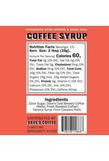 Dave's Coffee Dave's Coffee Syrup Original 16oz