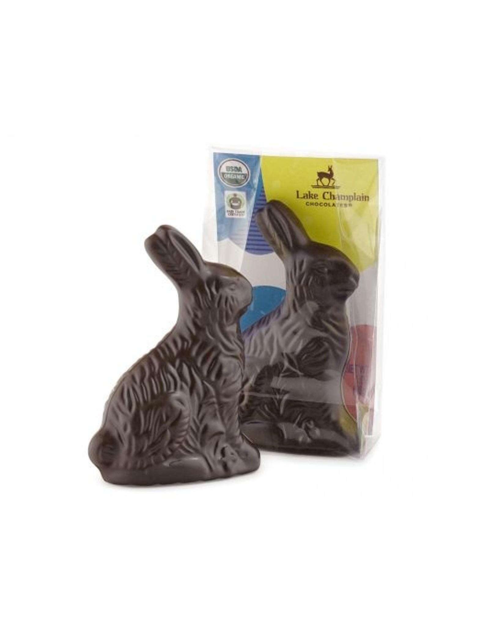 "Lake Champlain Lake Champlain Organic Dark Chocolate Baby Bunny  (3.25"")"