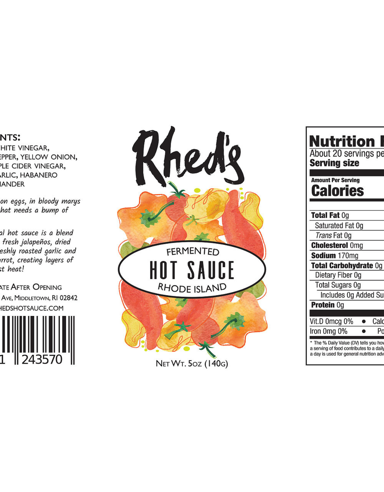 Rhed's Hot Sauce Rhed's Hot Sauce