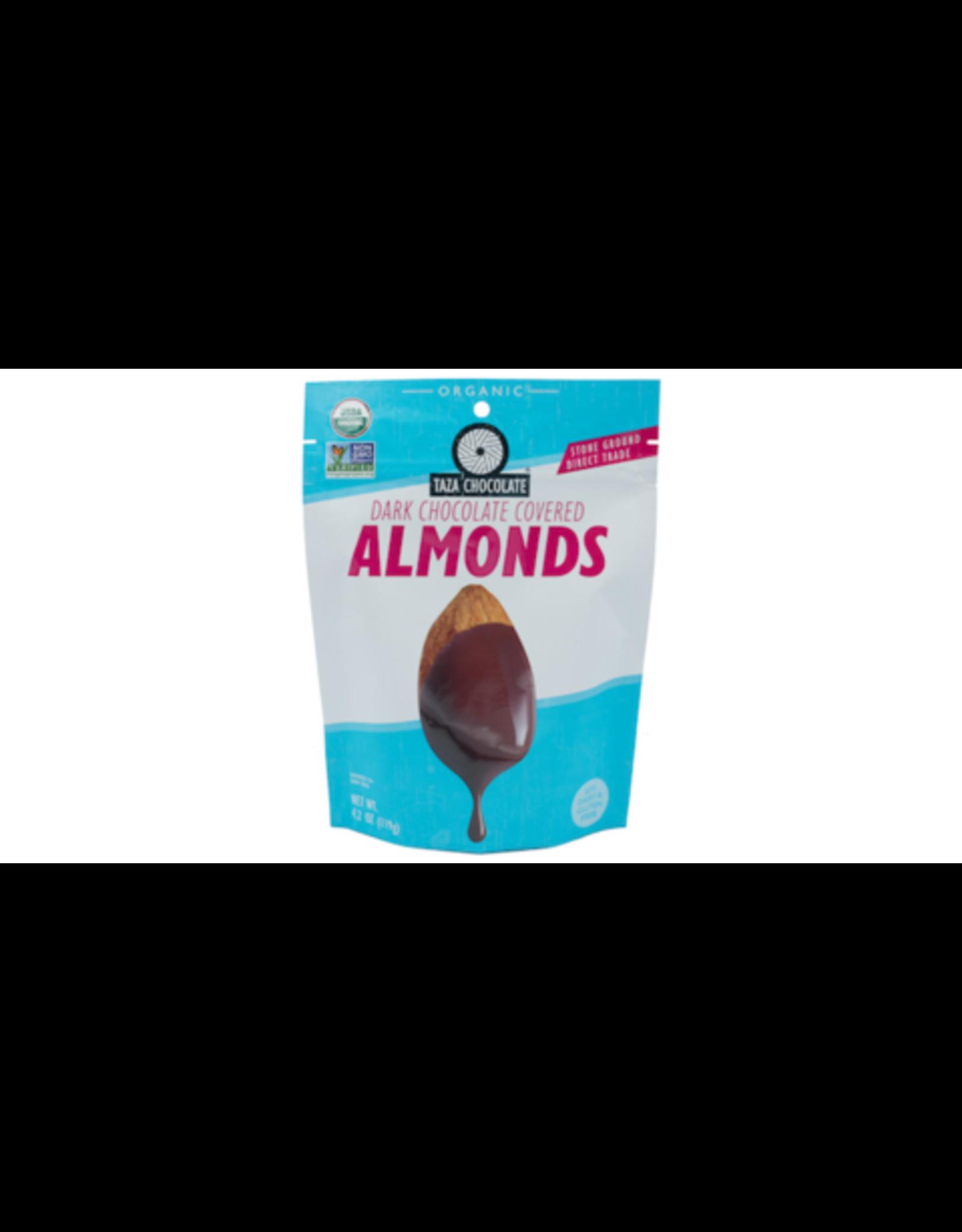 Taza Chocolate Taza Organic Dark Chocolate Covered Almonds