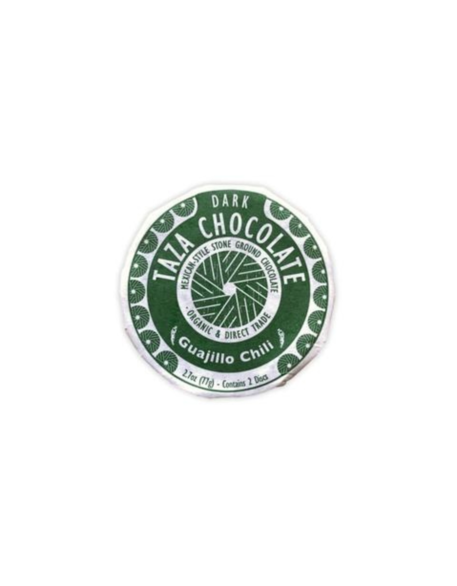 Taza Chocolate Taza Organic Dark Chocolate Disc with Guajillo Chili