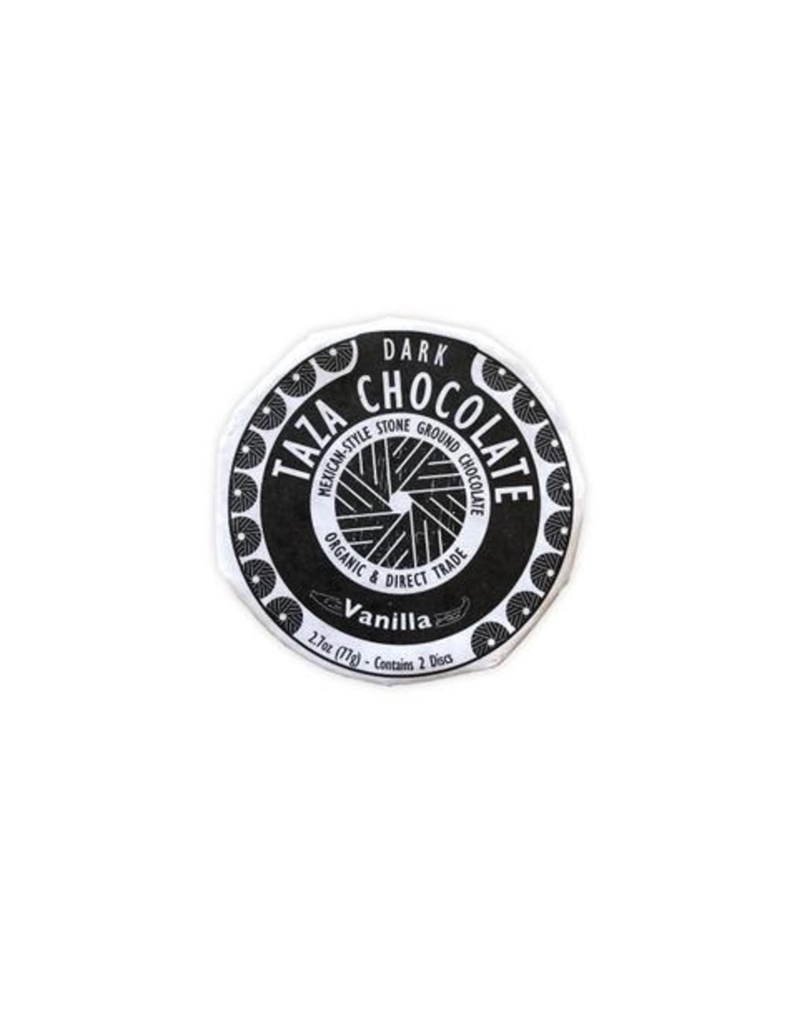 Taza Chocolate Taza Organic Dark Chocolate Disc with Vanilla