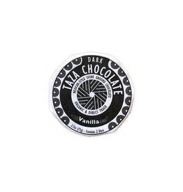Taza Chocolate Taza Organic Dark Chocolate Disc with Vanilla Bean