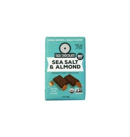 Taza Chocolate Taza Organic Dark Chocolate Bar with Sea Salt & Almond
