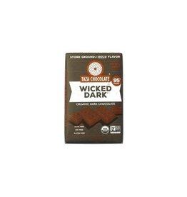 Taza Chocolate Taza Organic Wicked Dark Chocolate Bar 95%