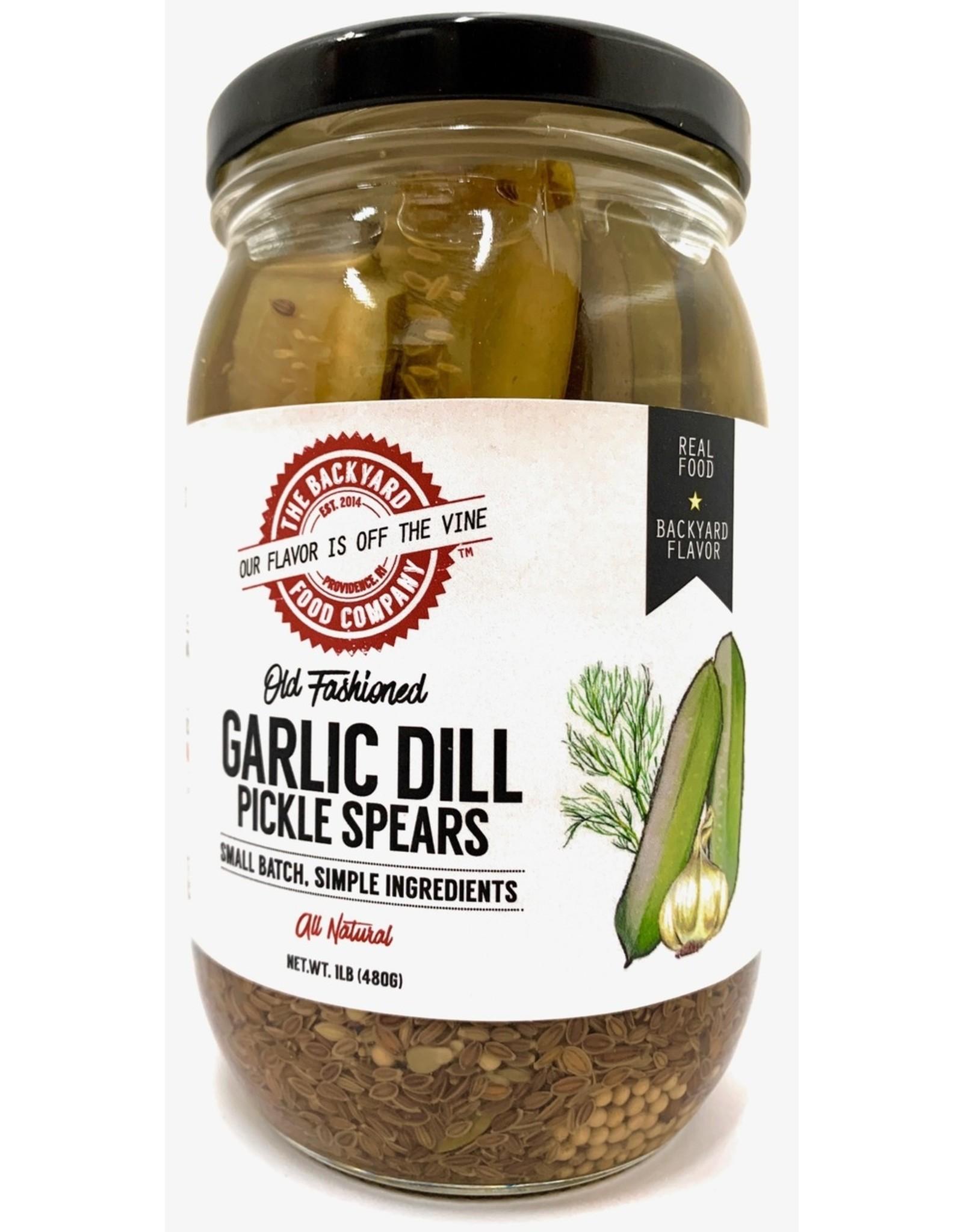 Backyard Food Co. RI Backyard Food Co. Garlic Dill Spears Pickles