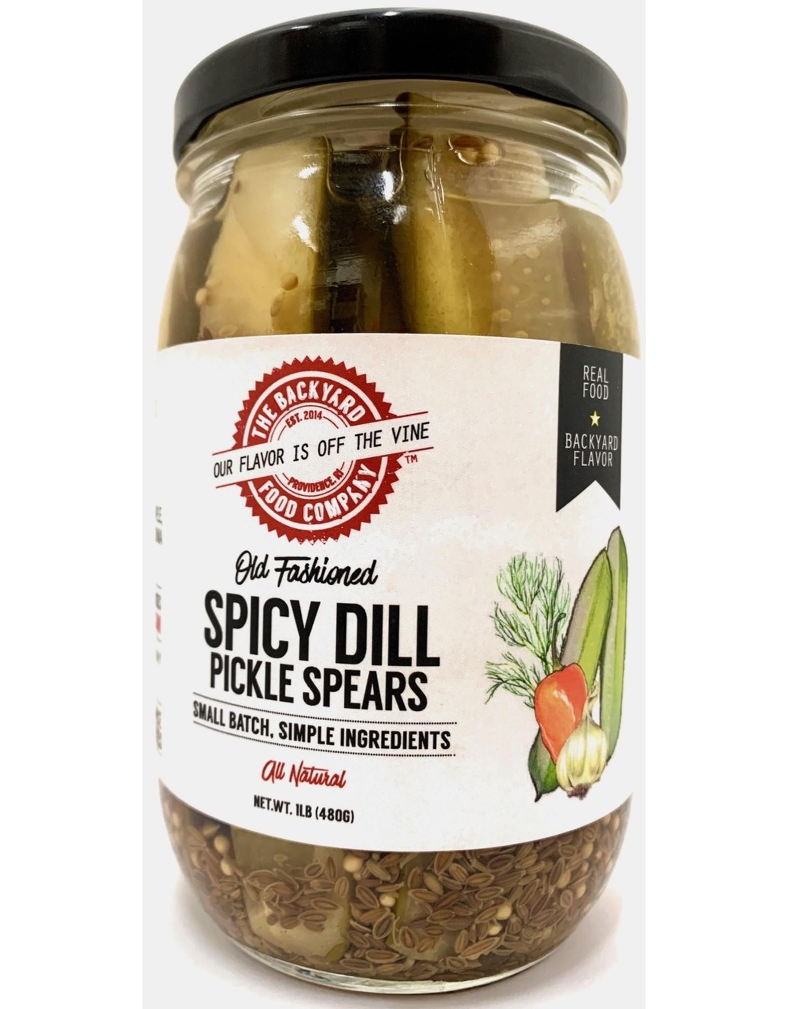 Backyard Food Co. RI Backyard Food Co. Spicy Dill Spear Pickles