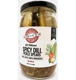 Backyard Food Co. RI Backyard Food Co. Spicy Dill Pickle Spears