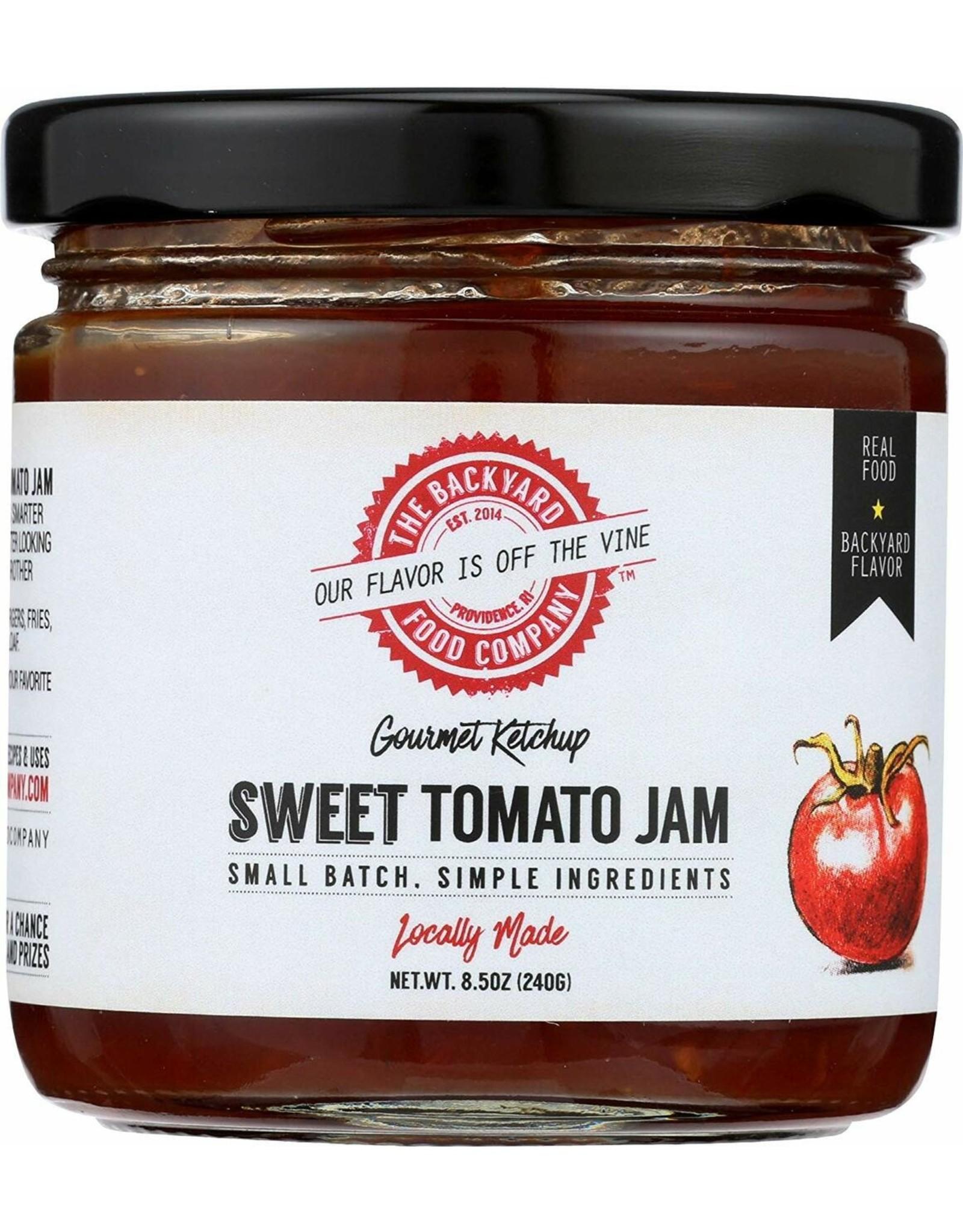 The Backyard Food Company RI Backyard Food Co. Sweet Tomato Jam