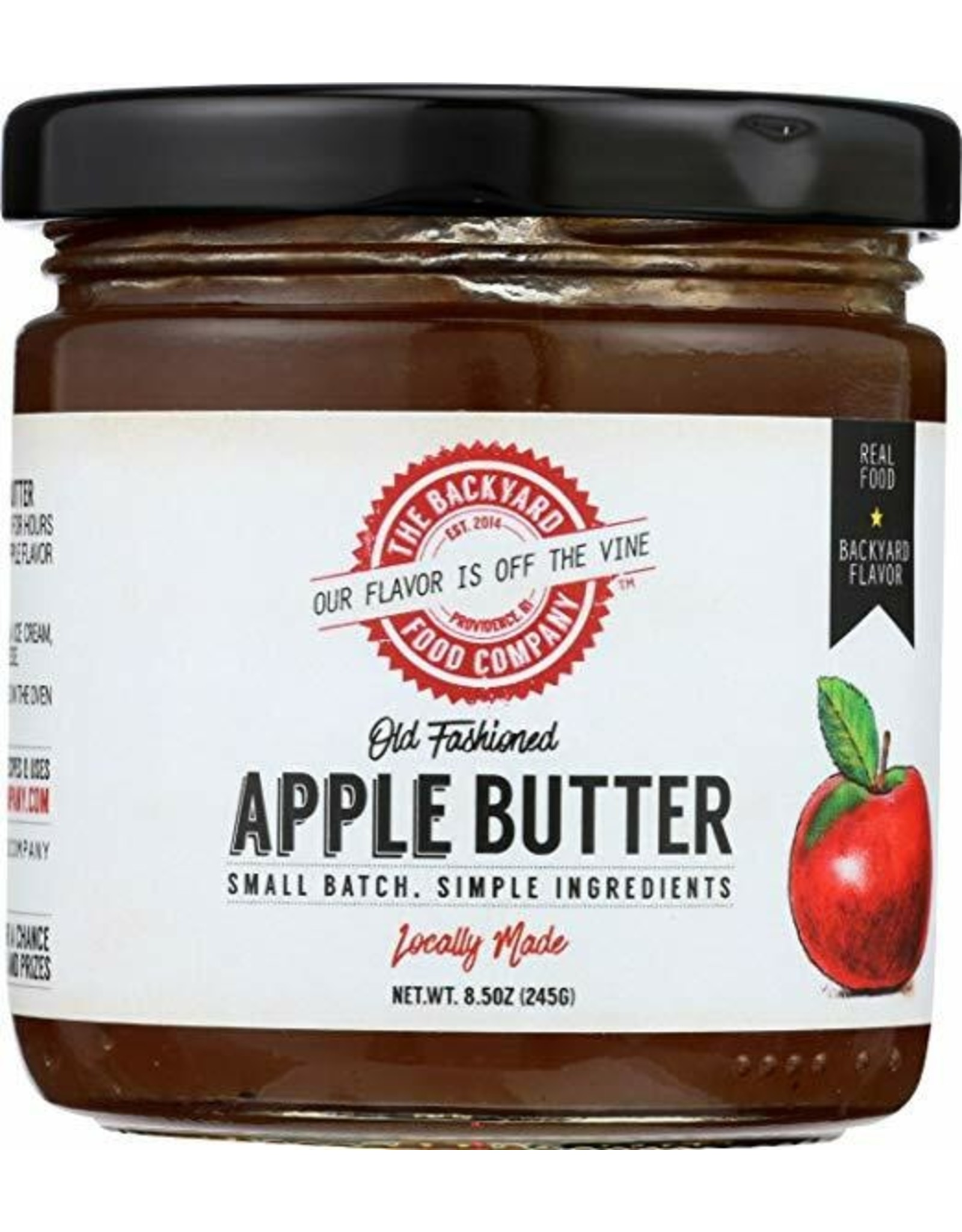 The Backyard Food Company RI Backyard Food Co. Apple Butter