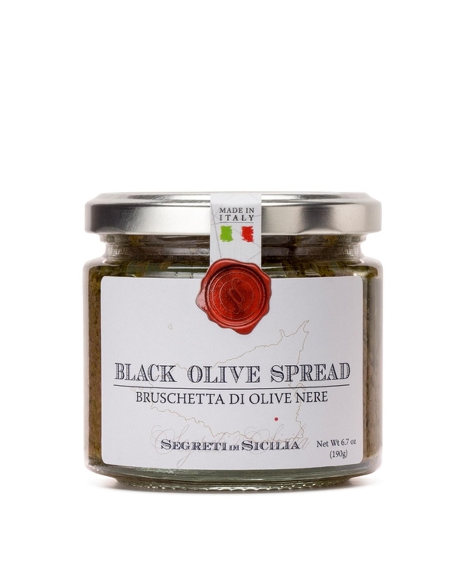 Frantoi Cutrera Black Olive Spread