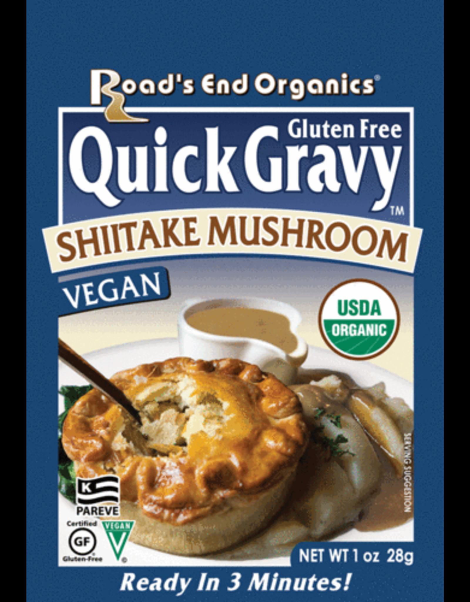 Organic Shitake Mushroom Gravy (Road's End Organics)