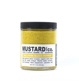 Mustard And co. Mustard And co. 7oz (Ballpark Black Pepper)