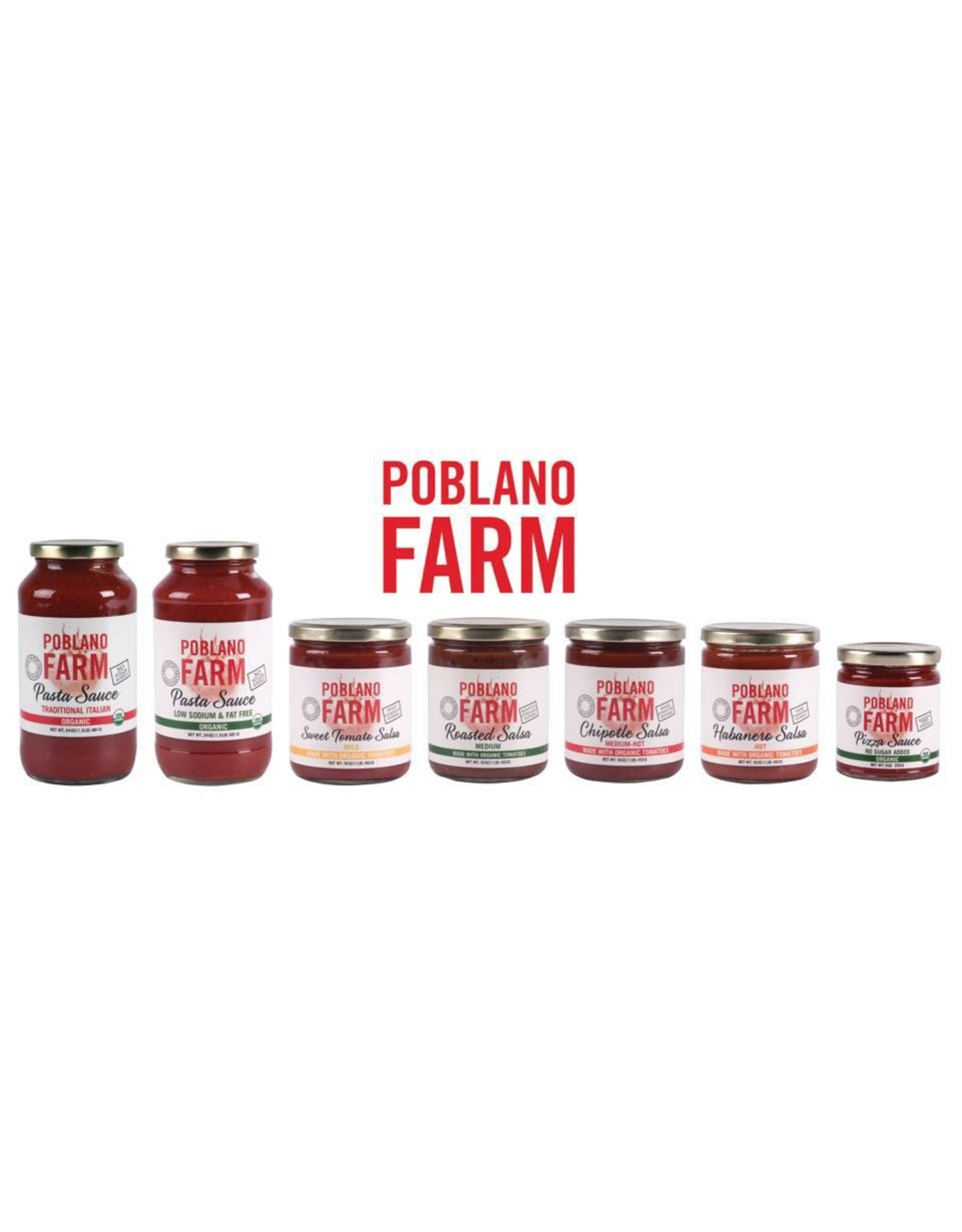 Poblano Farm Poblano Farm Chipotle Salsa (Medium Hot)